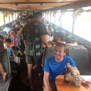 Mekong River, People in a cruise