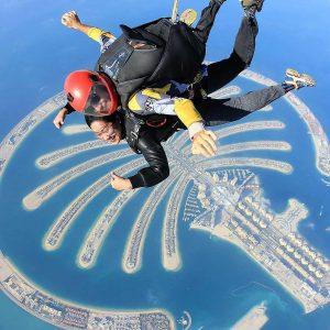 Skydiving, Ocean,