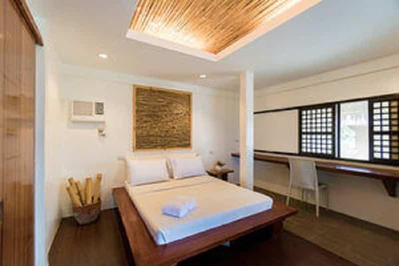 Bedroom, Bed, Aircon, Nightstand, Chair, Window