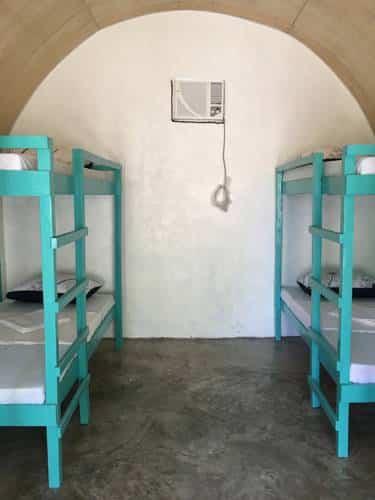 Bunk beds, Aircon