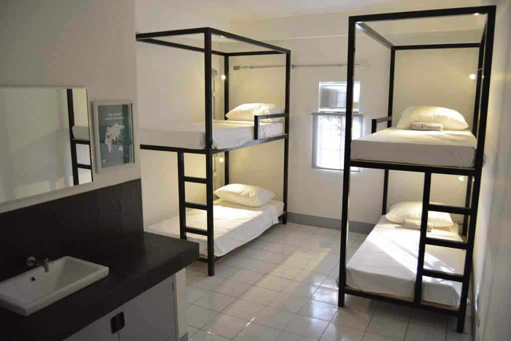Bunk Beds, Sink, Mirror, Picture Frame, Window