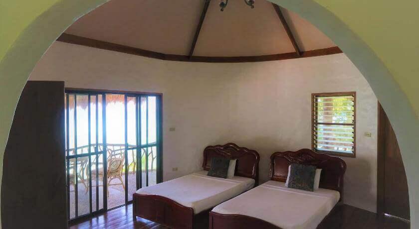 Bedroom, Bed, Windows, Sliding Door, Balcony, chairs
