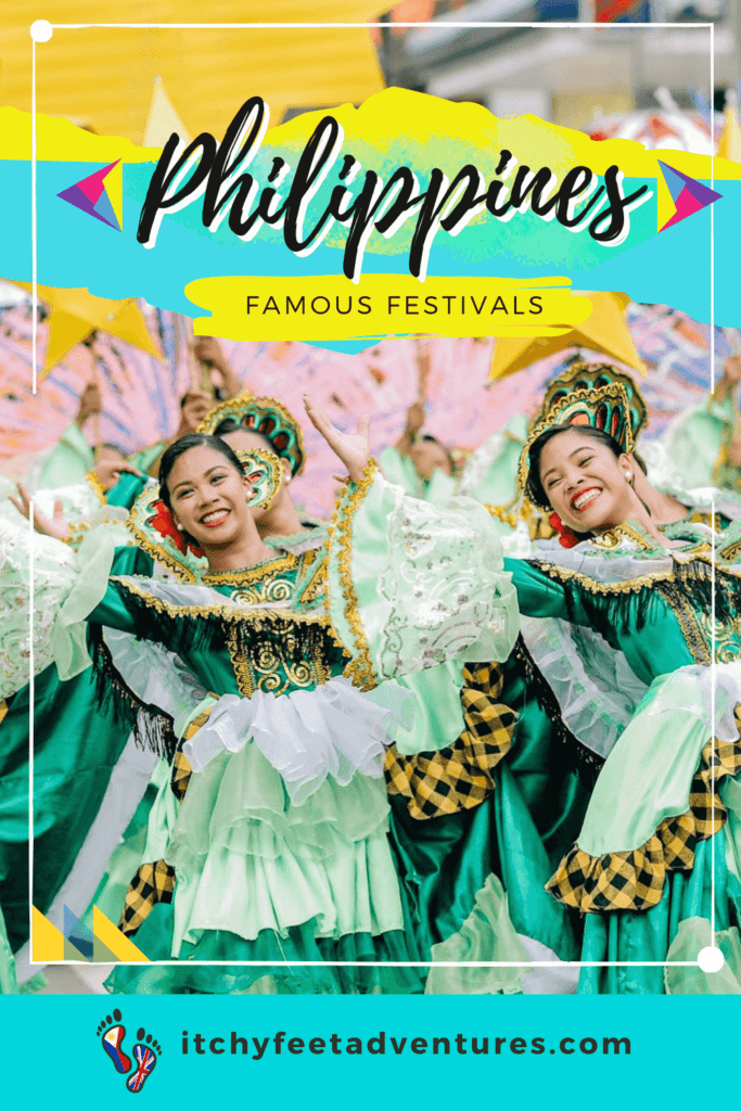Girls smiling wearing colorful costumes while street dancing