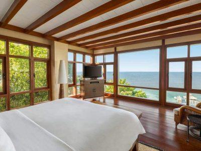Ocean View, Beds, Desk, TV, Kamo, Chair, Trees